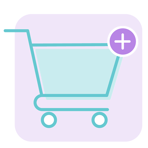 Add your product/s to the cart